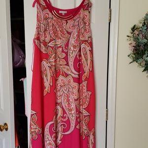 NWOT sandra Darren  maxi dress